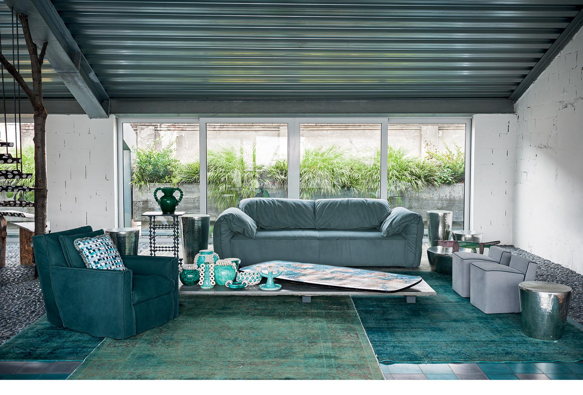 Arredamento Casa Western casablanca leather sofa | baxter