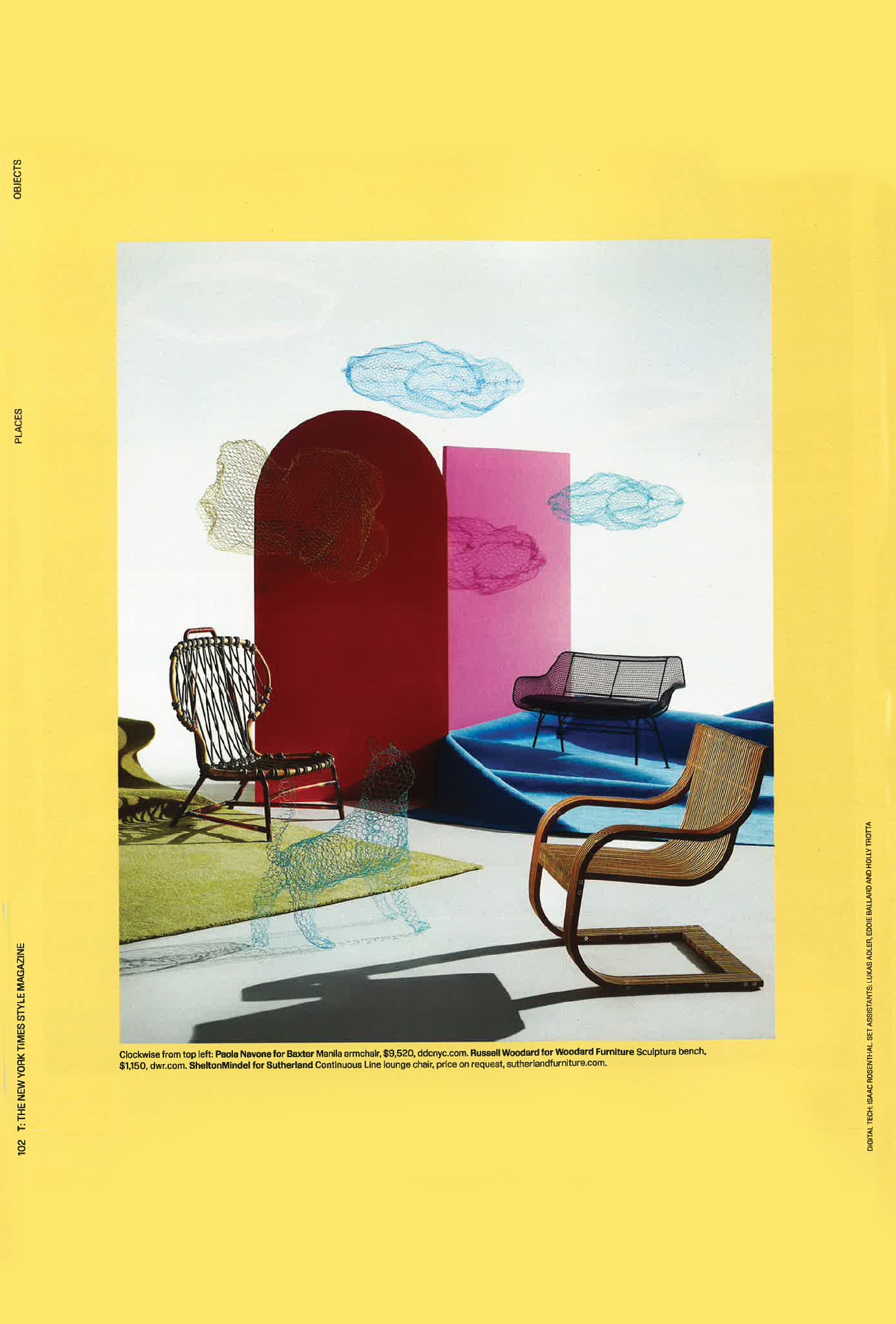 Surprising T Magazine Usa March 2018 Baxter Home Interior And Landscaping Ologienasavecom