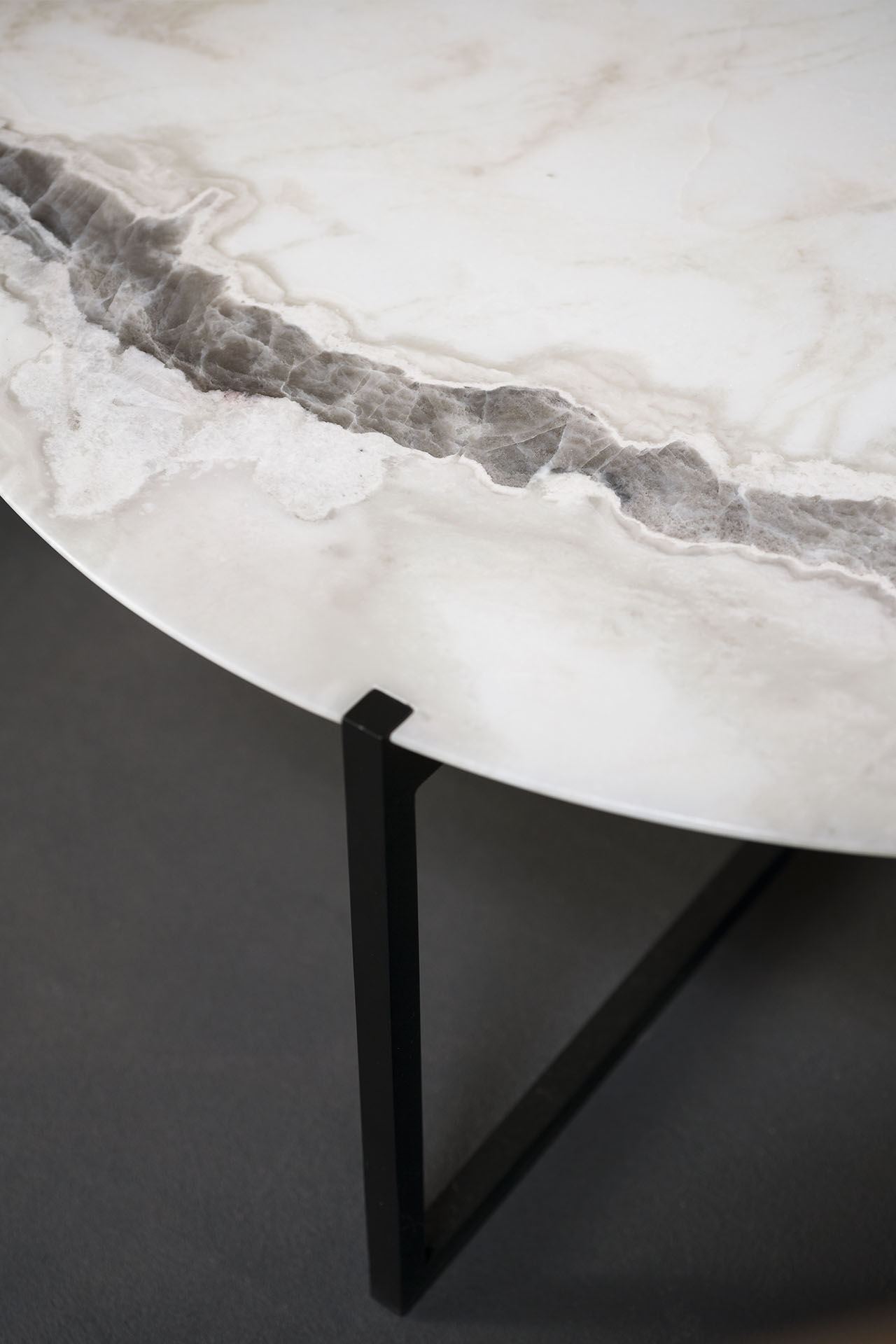 Nero D Africa Marmo tavolino icaro | baxter