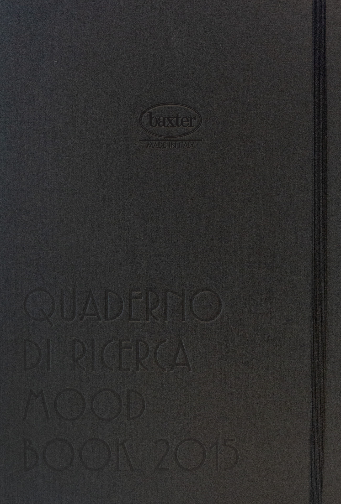 BAXTER MOOD BOOK 2015