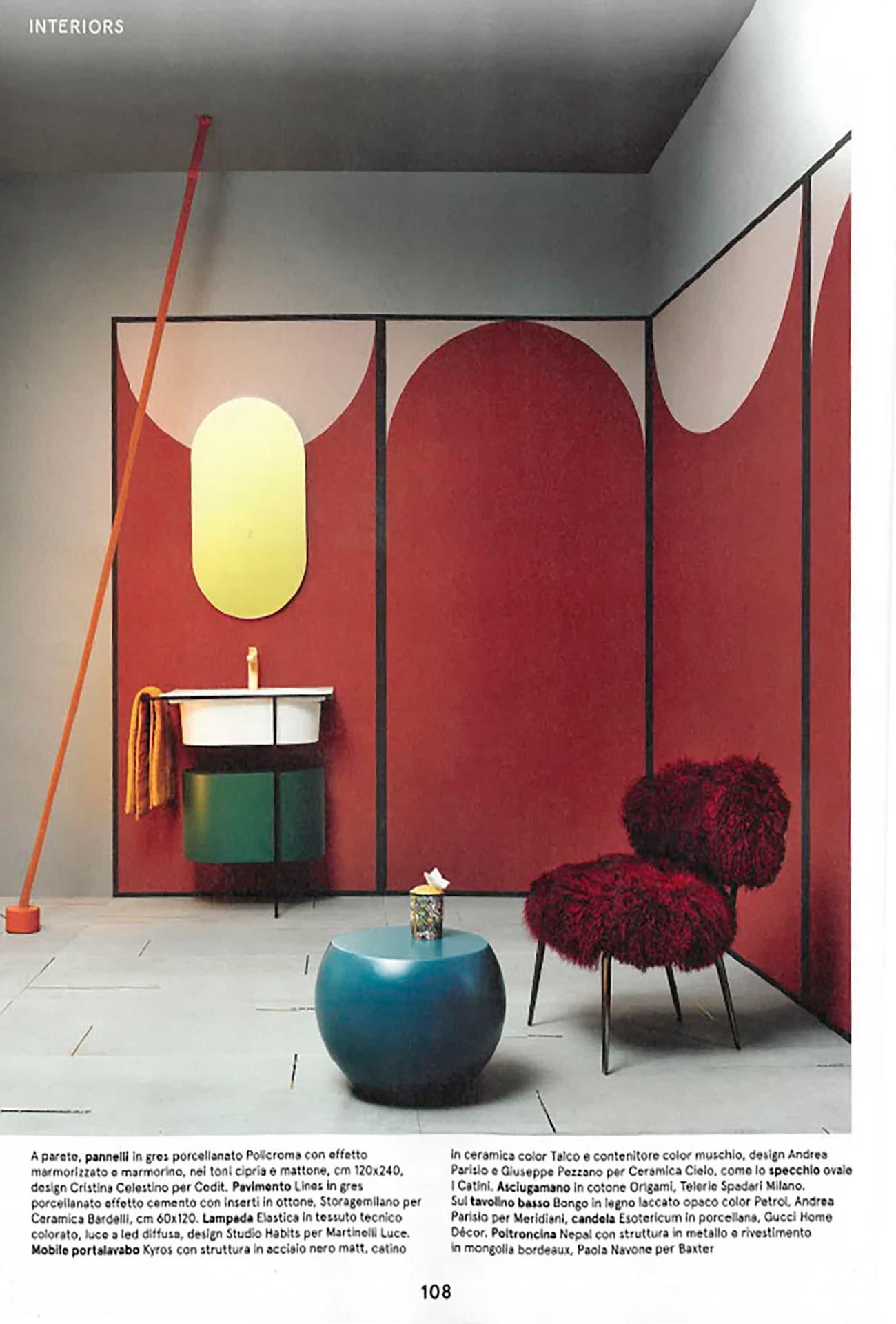 Lampada Da Studio Design nepal leather armchair | baxter
