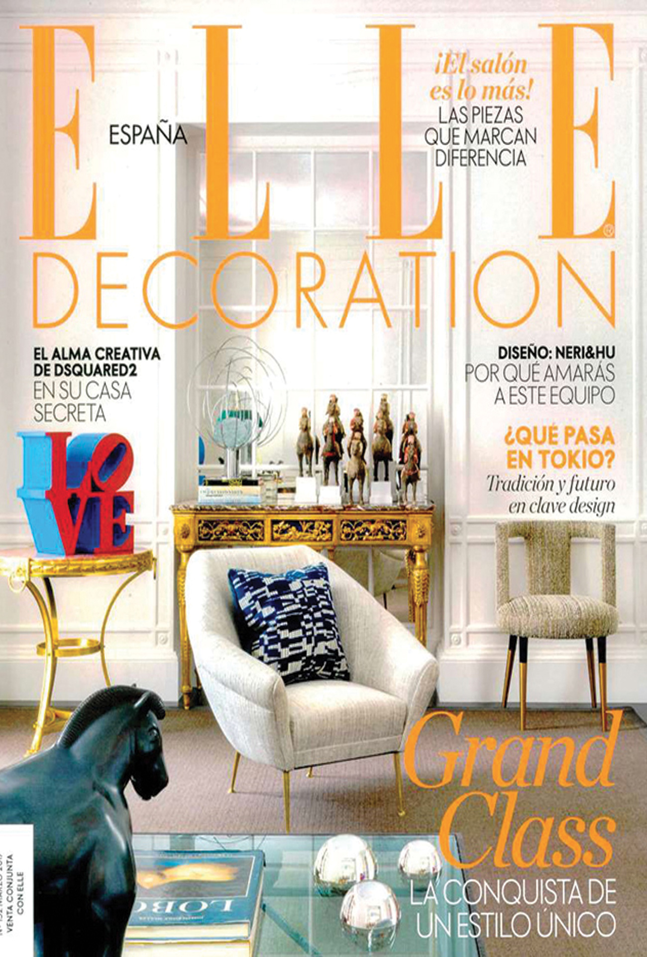 Fabricant De Decoration Portugal elle decoration spain march 2017 | baxter