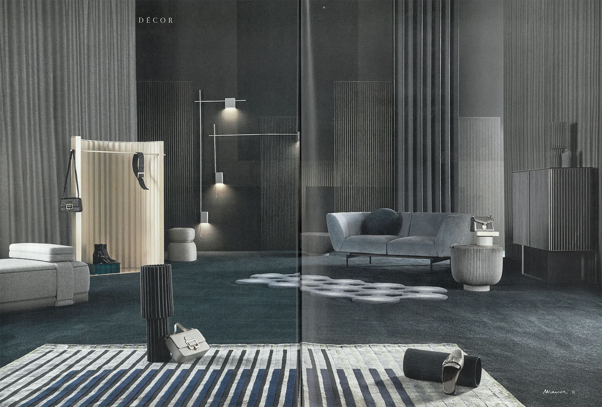 Mobili Bagno Marie Claire.Marie Claire Maison Italy December 2019 January 2020 Baxter