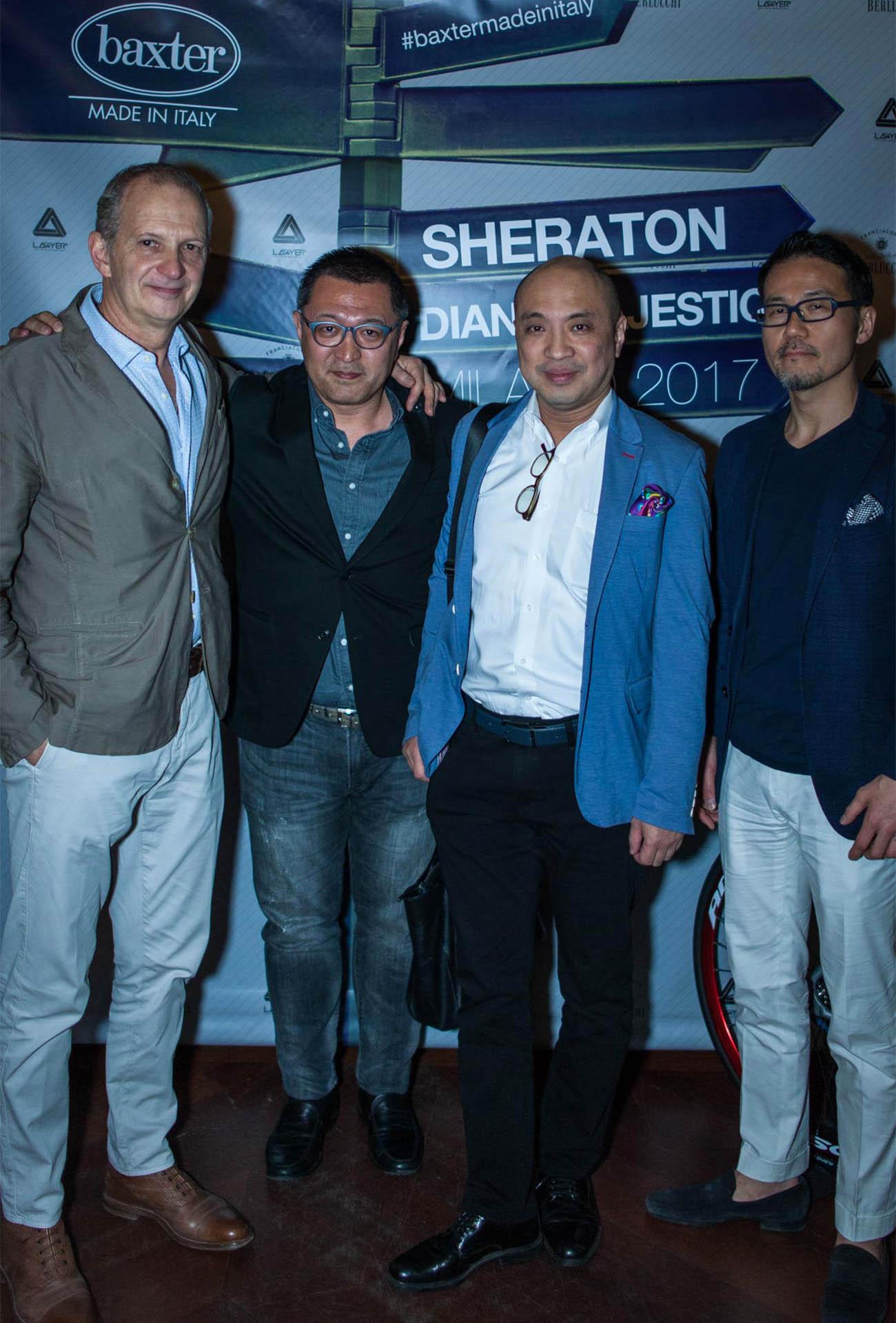 BAXTER PARTY SHERATON DIANA MAJESTIC FUORISALONE 2017 | Baxter