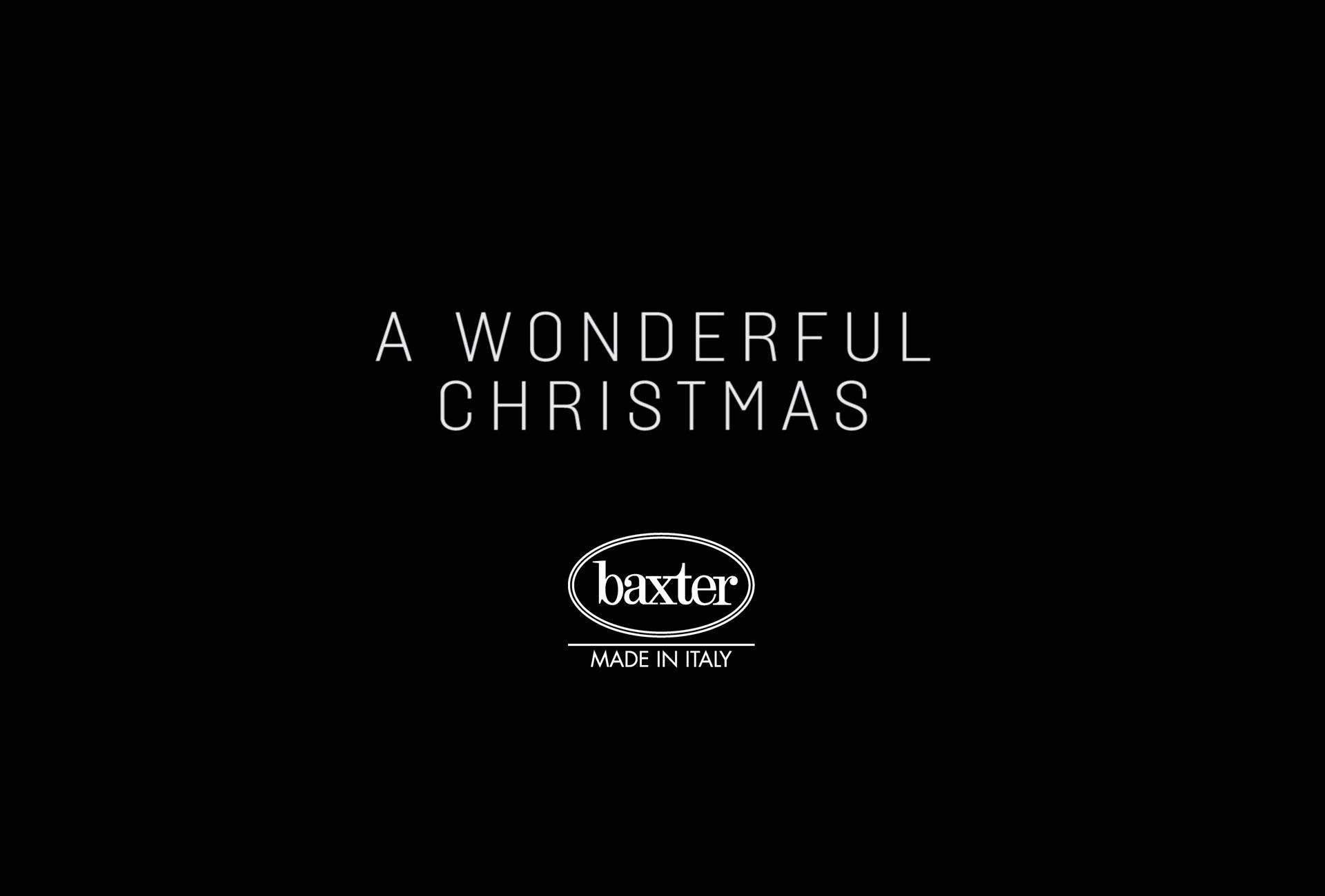 A WONDERFUL CHRISTMAS - BAXTER 2019