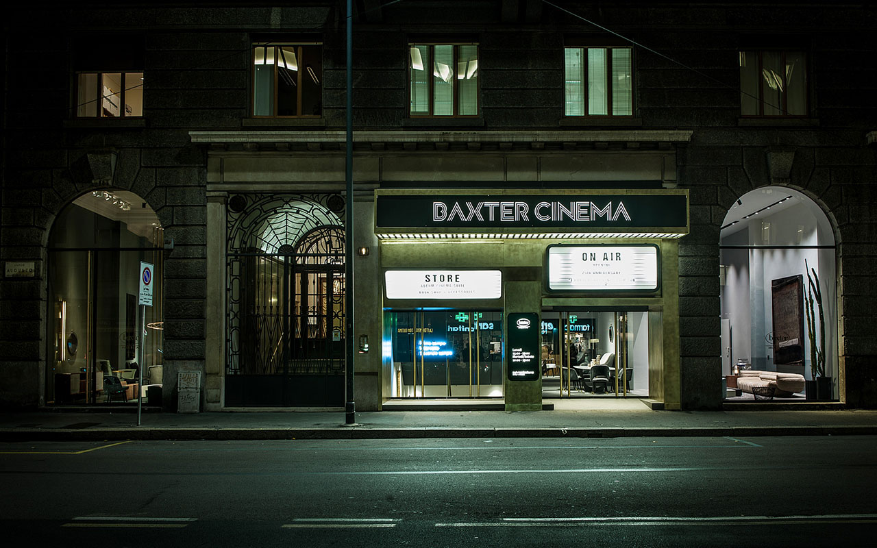 FROM CINEMA TO STORE: BAXTER CINEMA OPENING