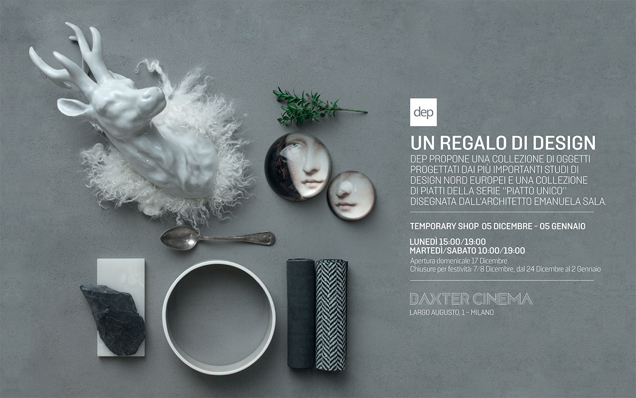 BAXTER CINEMA & DEP TEMPORARY SHOP: A DESIGN GIFT