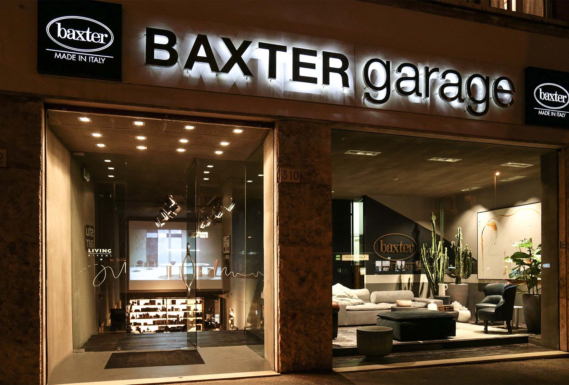 GEOMETRIES AT BAXTER GARAGE ROME