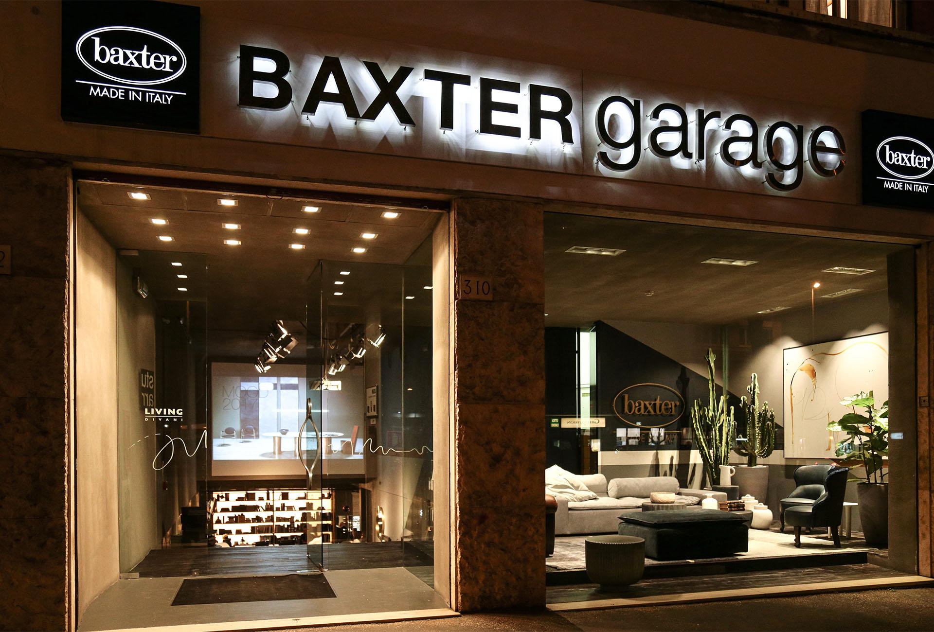 GEOMETRIE D'AUTORE AL BAXTER GARAGE DI ROMA