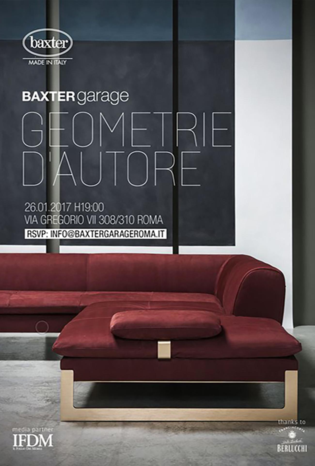 SERATA D'AUTORE AL BAXTER GARAGE CON IFDM