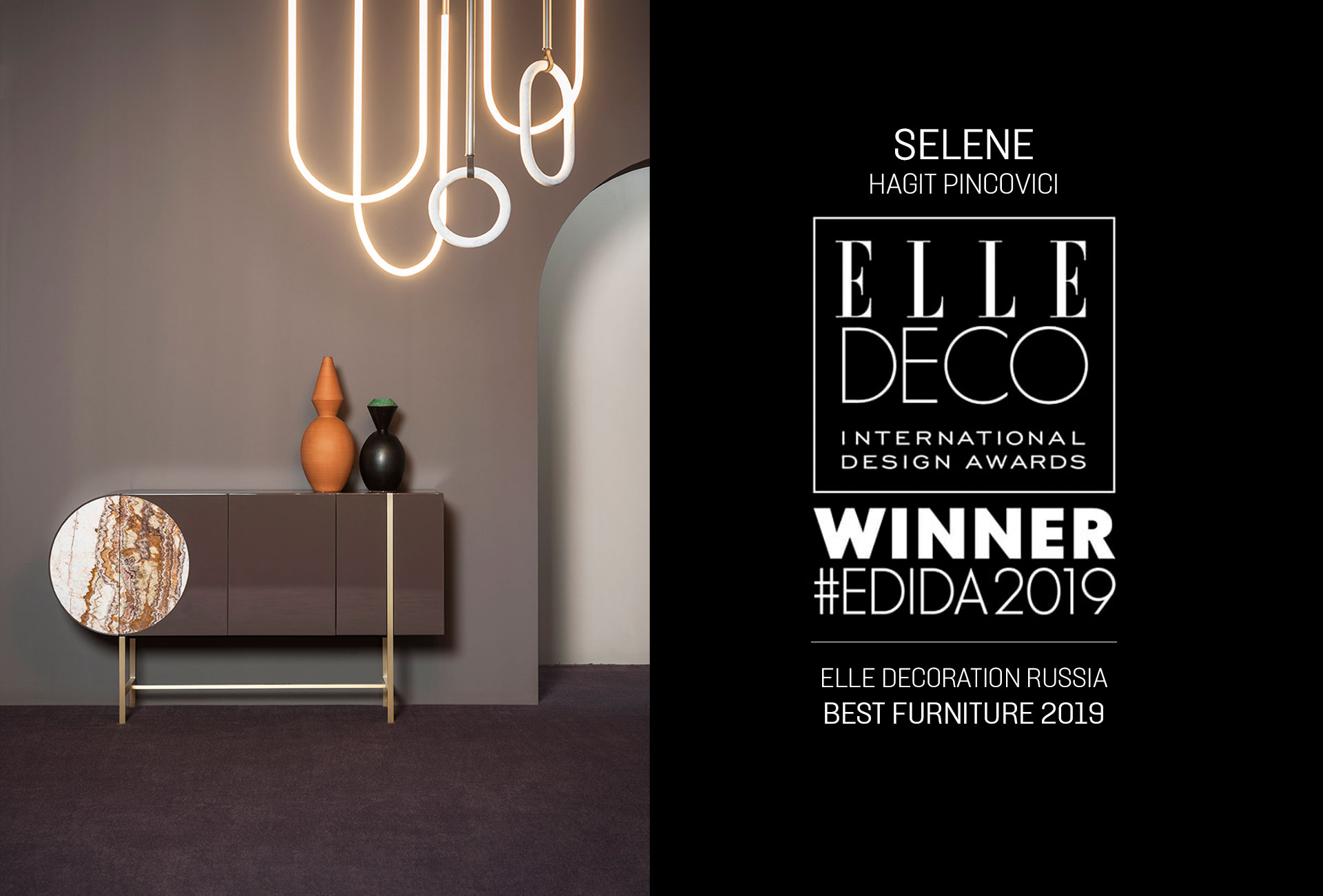 SELENE – ELLE DECORATION BEST FURNITURE 2019