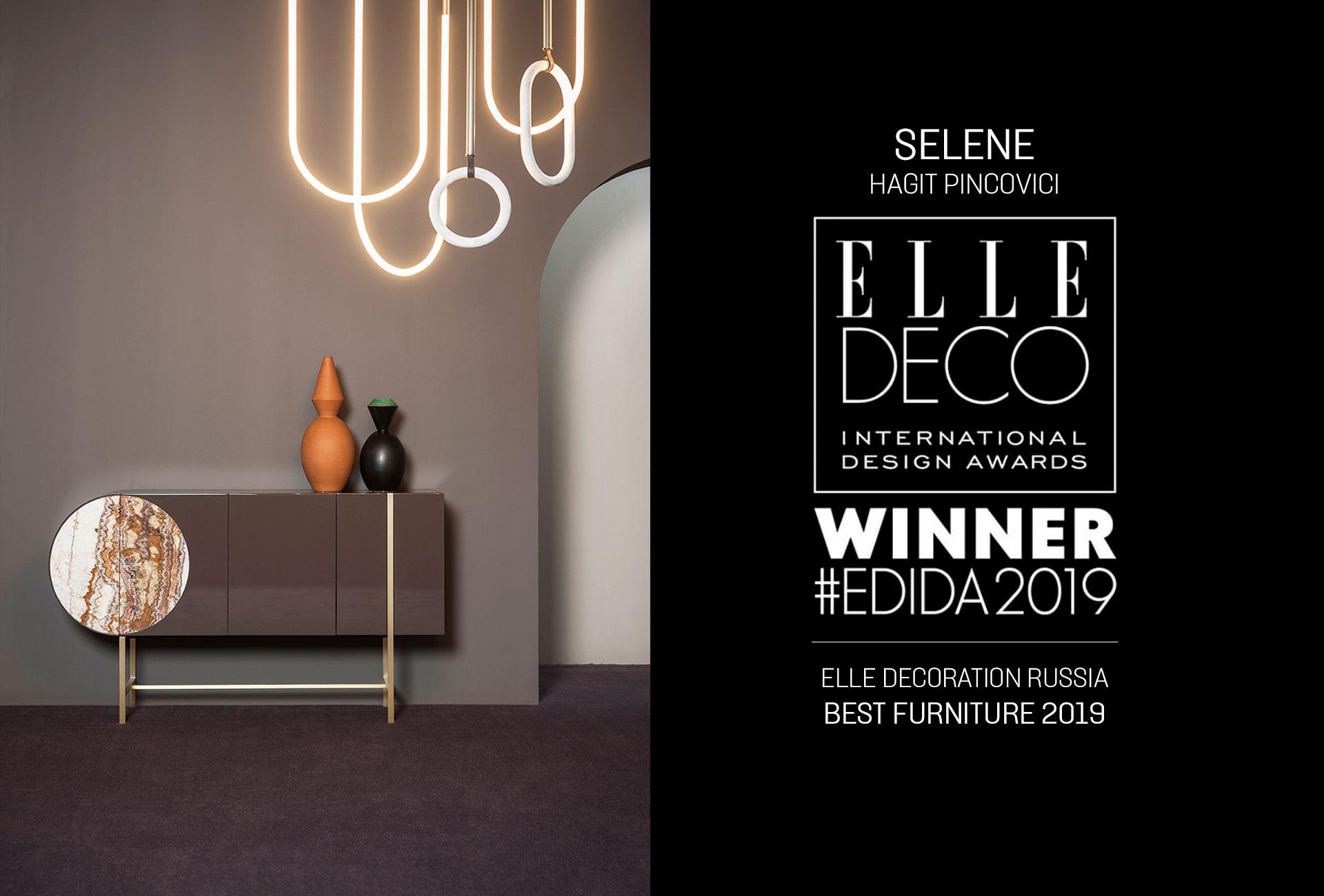 SELENE – ELLE DECORATION BEST FURNITURE 2019