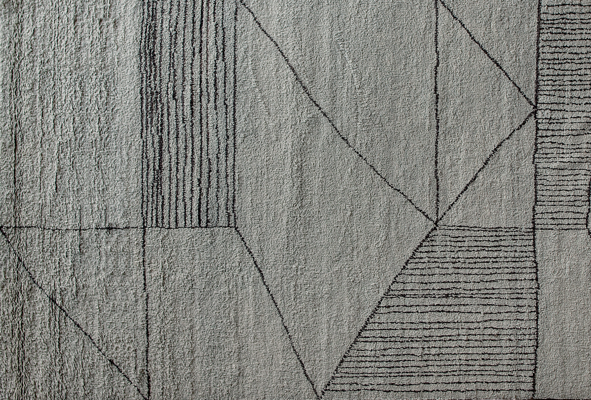 Berbere Light Grey Dark Brown Pattern A Baxter