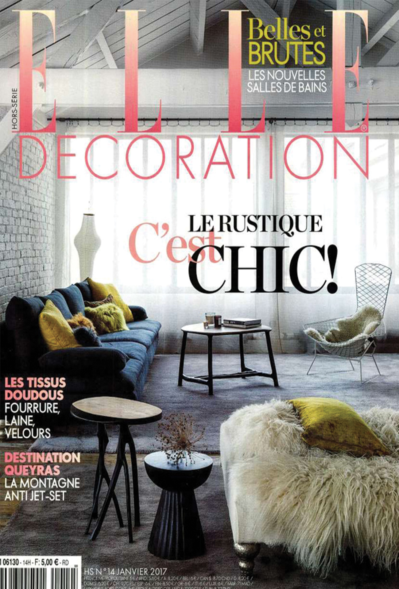 Fabricant De Decoration Portugal elle decoration france january 2017 | baxter
