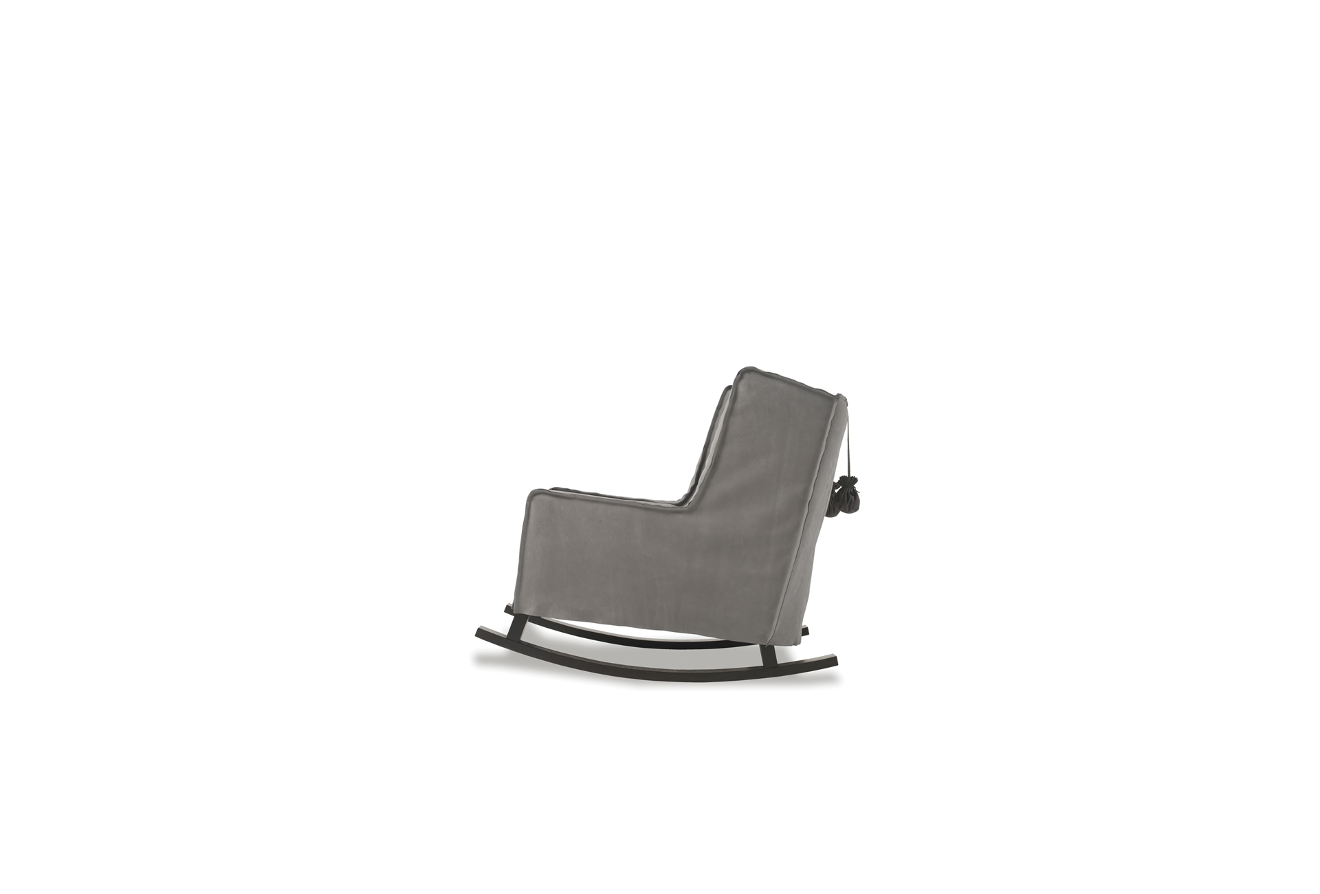 Housse Leather Rocking Armchair Baxter